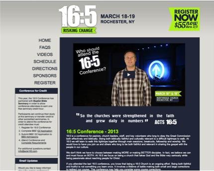 16.5 Website